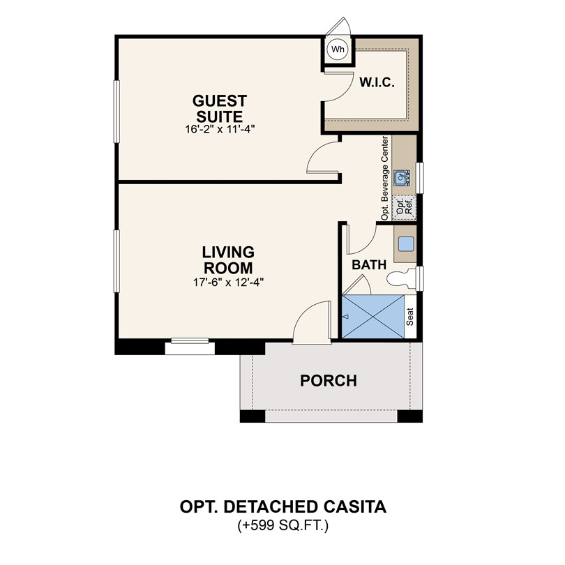 sterling ranch detached casita 3001-01