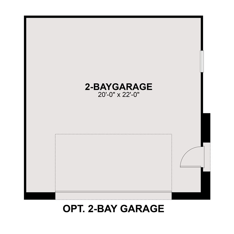sterling ranch opt 2 bay garage 3001-01