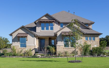 Caldwell model in Butler Ranch Estates in Dripping Springs, TX